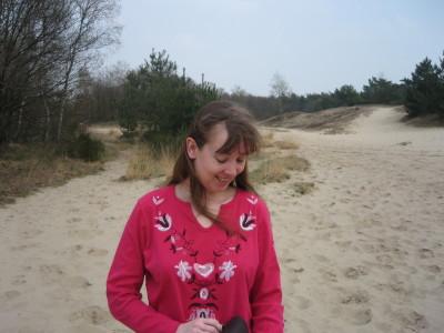 Kim in de duinen