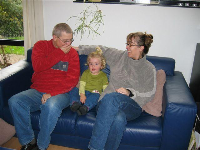 Kim, Linda en Berry