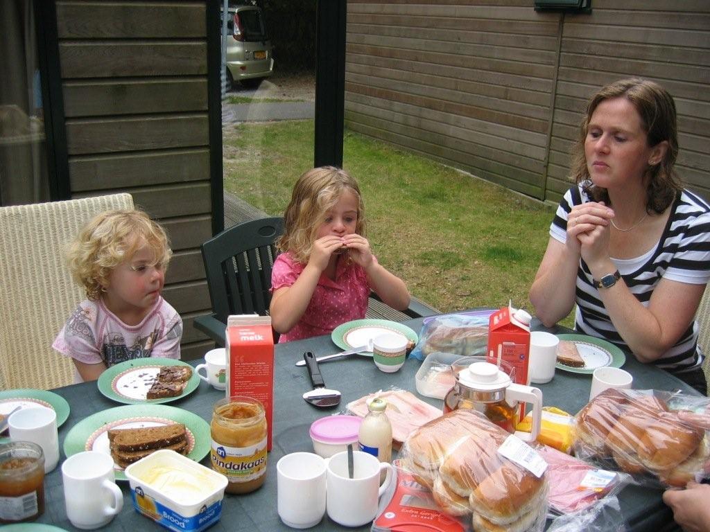 Mariëlle en haar meiden