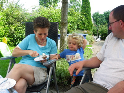 Mariëlle, Richard en Linda