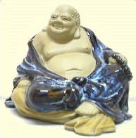 Boeddha van keramiek