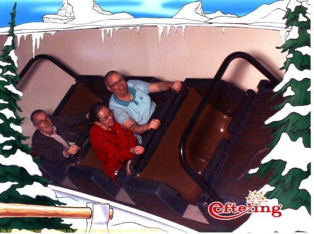 bobslee in de Efteling
